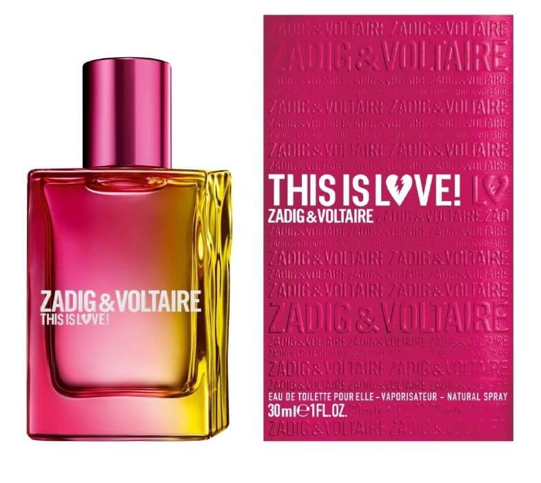 Parfém Zadig & Voltaire This is Love! For Her - EDP - TESTER100 ml